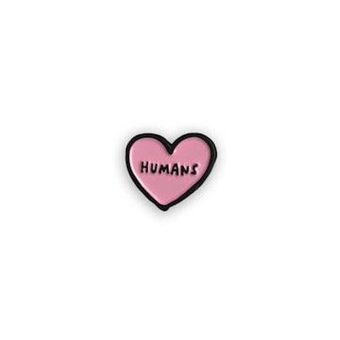 Humans Heart Enamel Pin