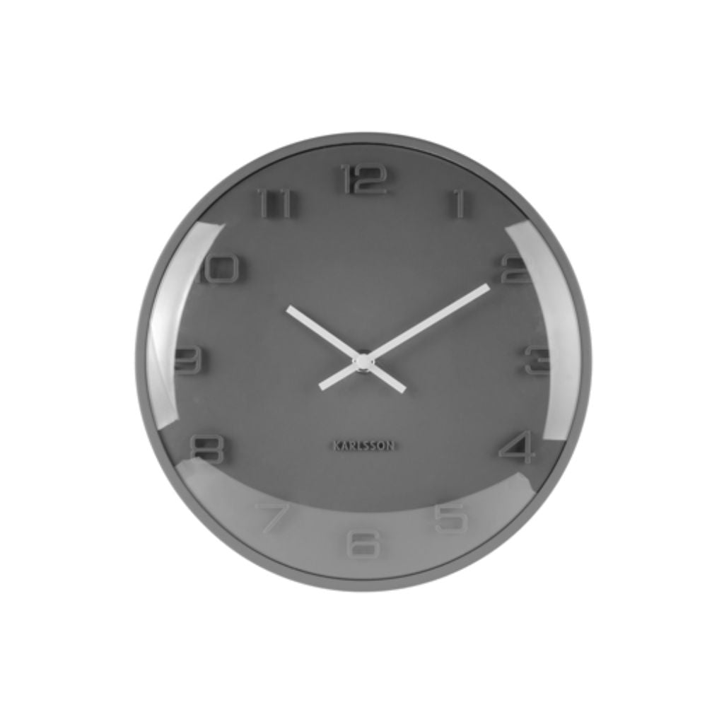 Grey Dome Clock