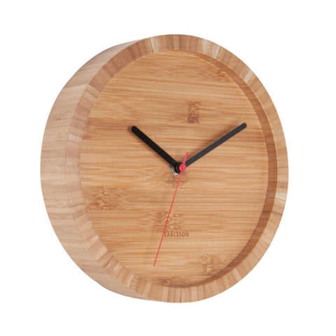 Bamboo Wooden Wall Clock