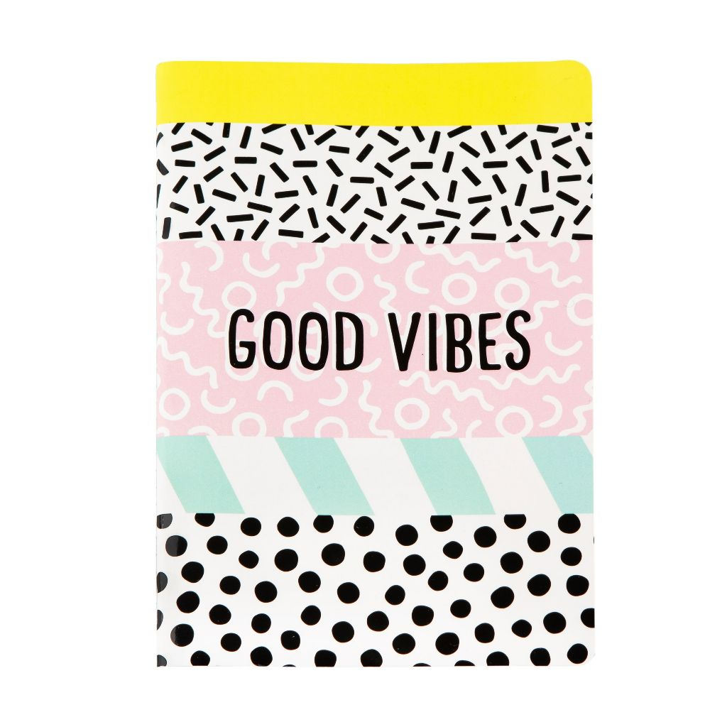 Good Vibes A5 Notebook