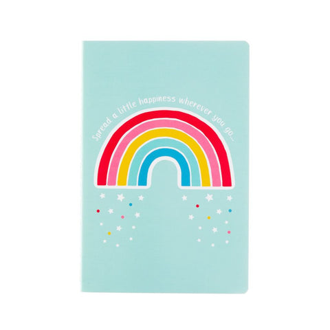 Rainbow Happiness A5 Notebook