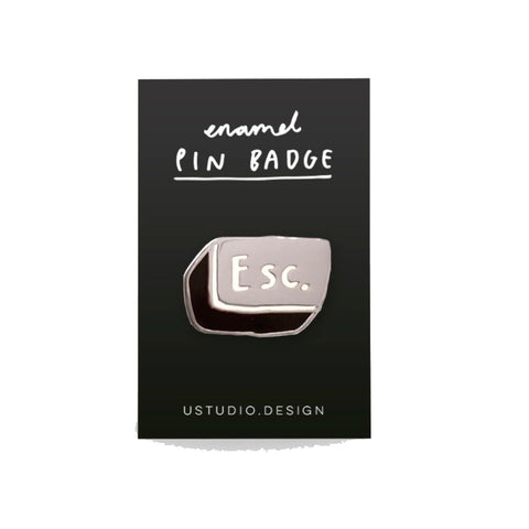 Escape Enamel Pin