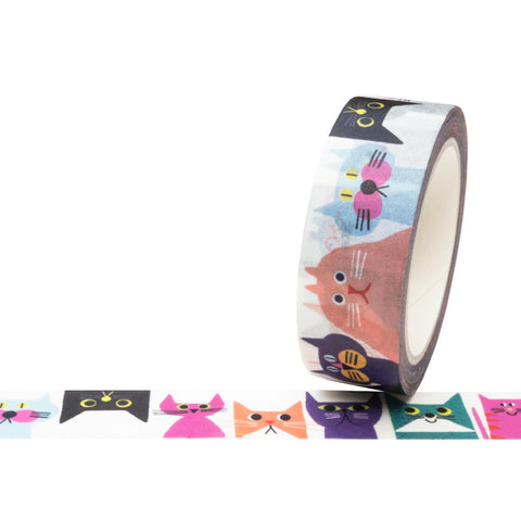 Cat Print Washi Tape