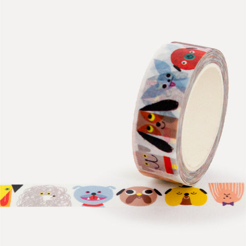 Dog Print Washi Tape