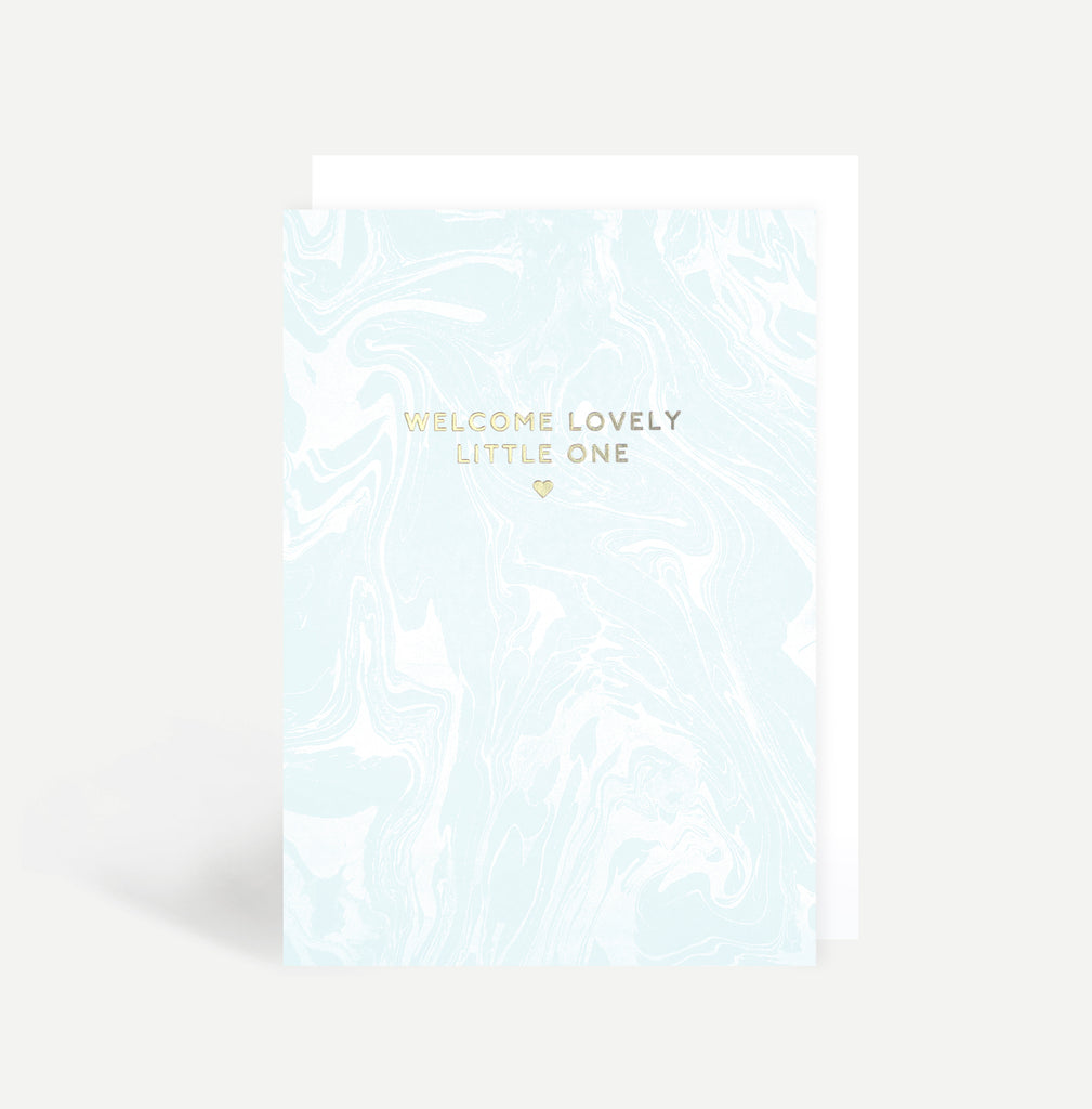 welcome baby boy greetings card lily loves shopping