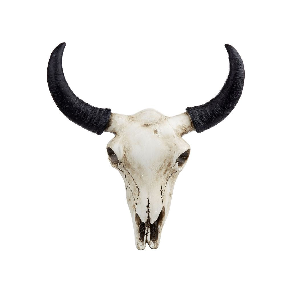 Buffalo Skull Wall Decoration
