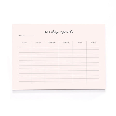 Blush Pink A4 Desk Pad