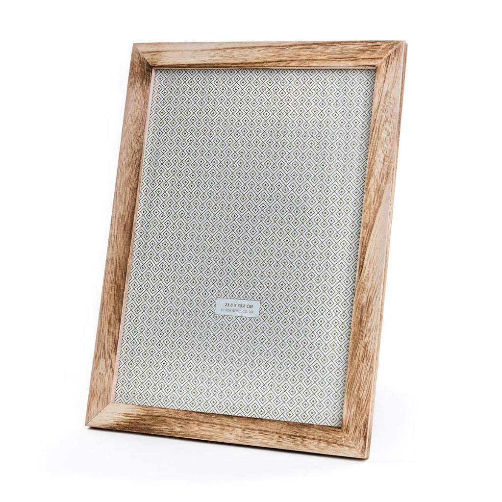 Natural Wood Large Picture Frame