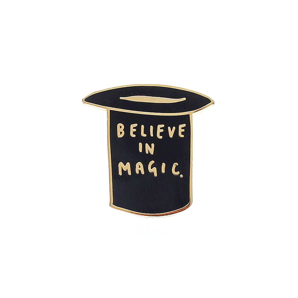 Believe In Magic Enamel Pin