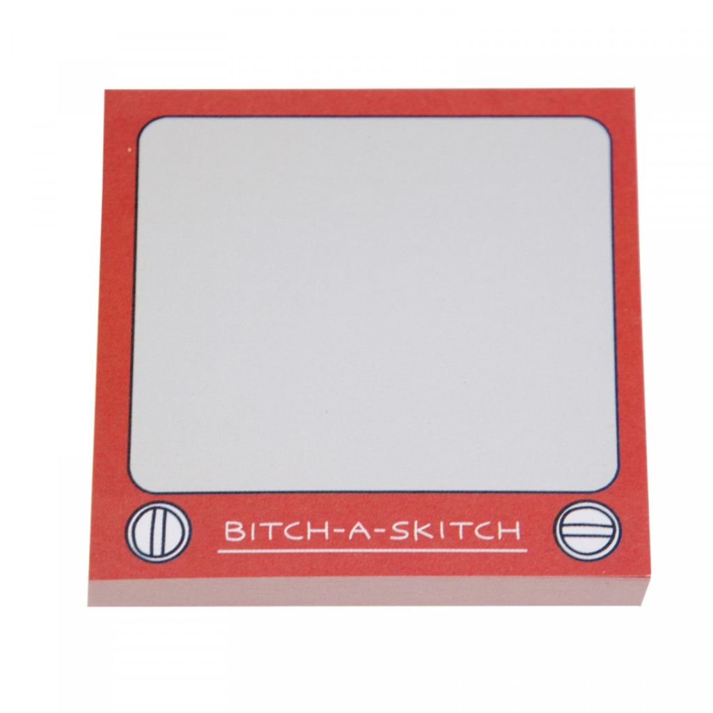 Bitch-A-Skitch Sticky Notes