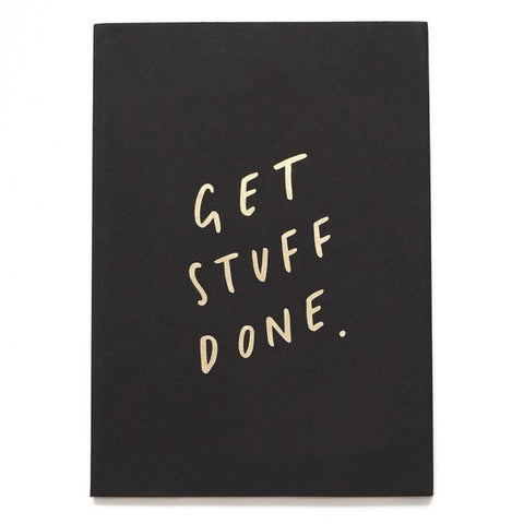 Get Stuff Done A5 Planner Notebook
