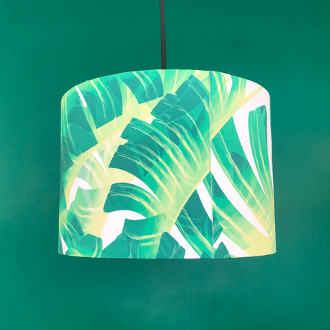 Banana Leaf Design 30cm Lampshade