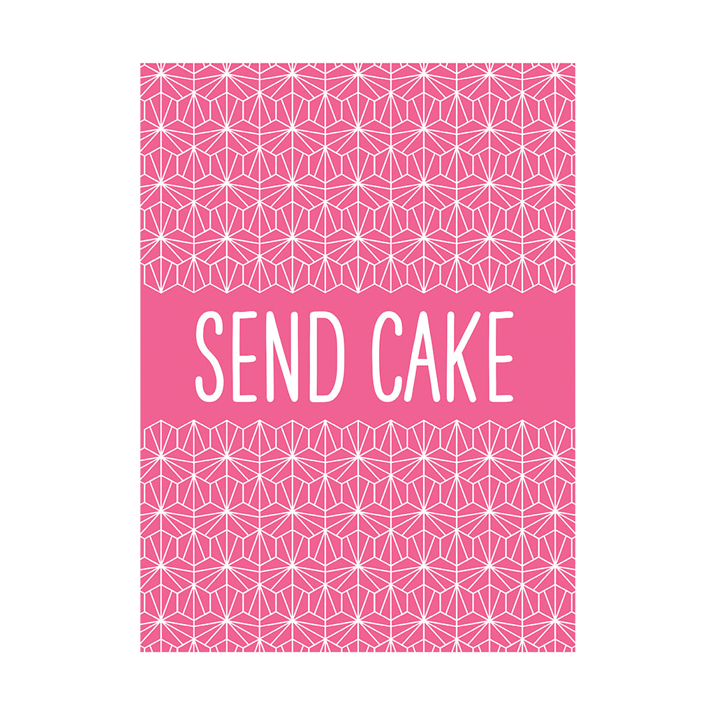 Send Cake Greetings Card