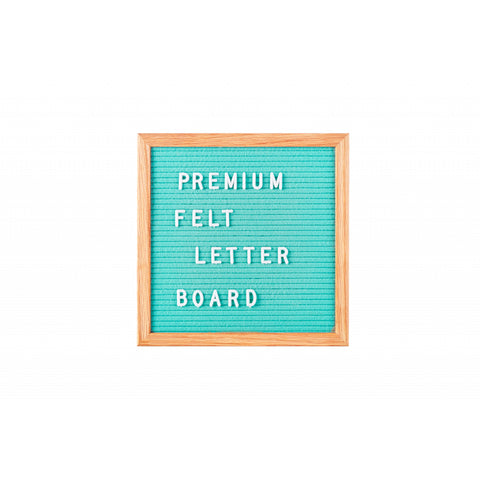 Mint Felt Small Message Board