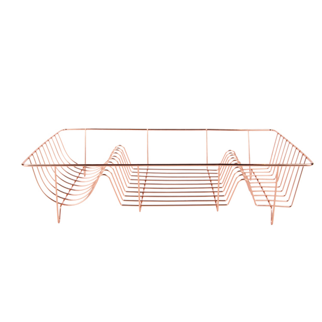 Rose Gold Dish Rack
