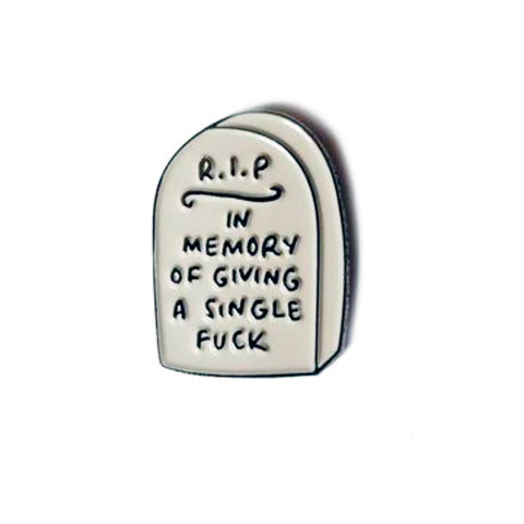 In Memory Enamel Pin
