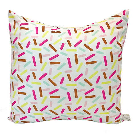 Sprinkles Print Handmade Cushion