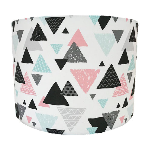 Multi Triangles Handmade Lampshade