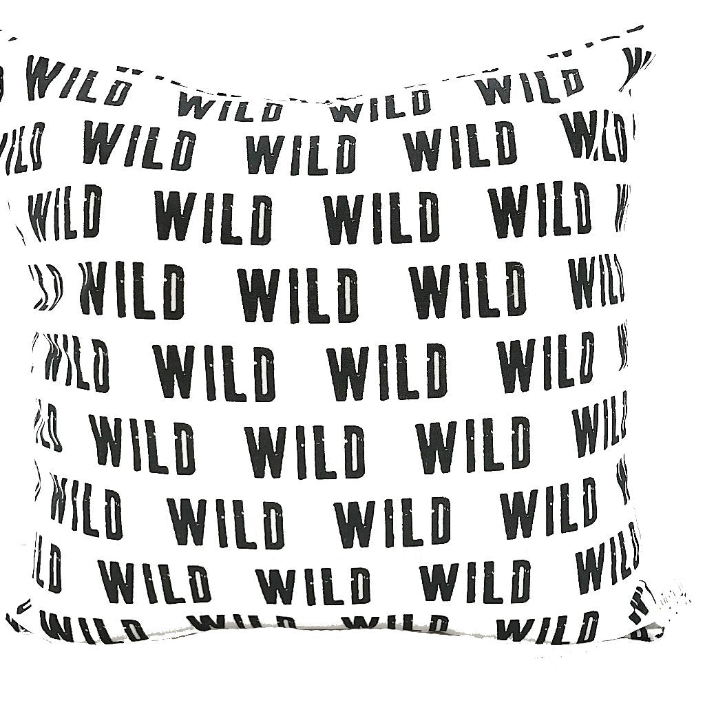 Wild Print Handmade Cushion