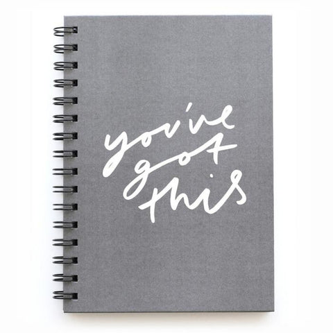 You've Got This A5 Wire Notebook