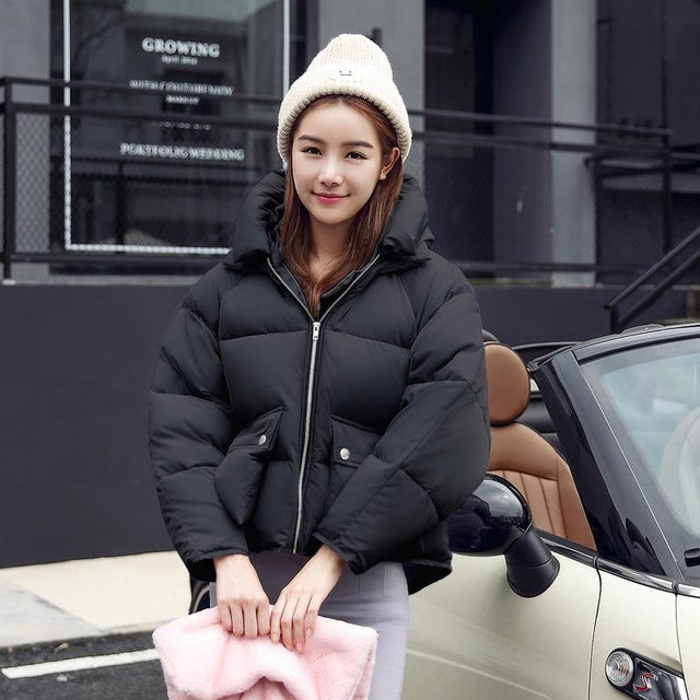 Pillow Padded Puffer Coat