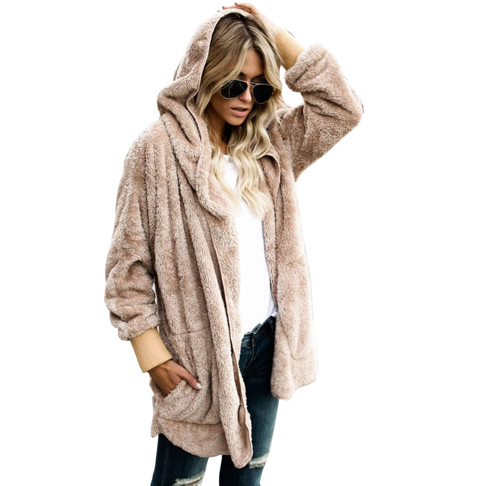 Fuzzy Oversized Jacket