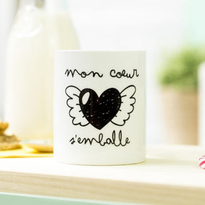 Tasse mon coeur s'emballe - Mr Wonderful