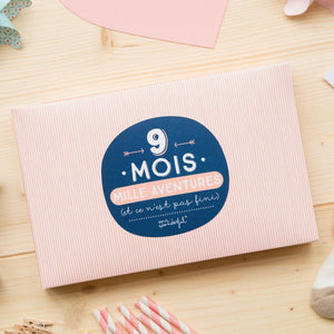 Album 9 mois, mille aventures de la marque Mr Wonderful en vente sur www.the-happy-factory.com
