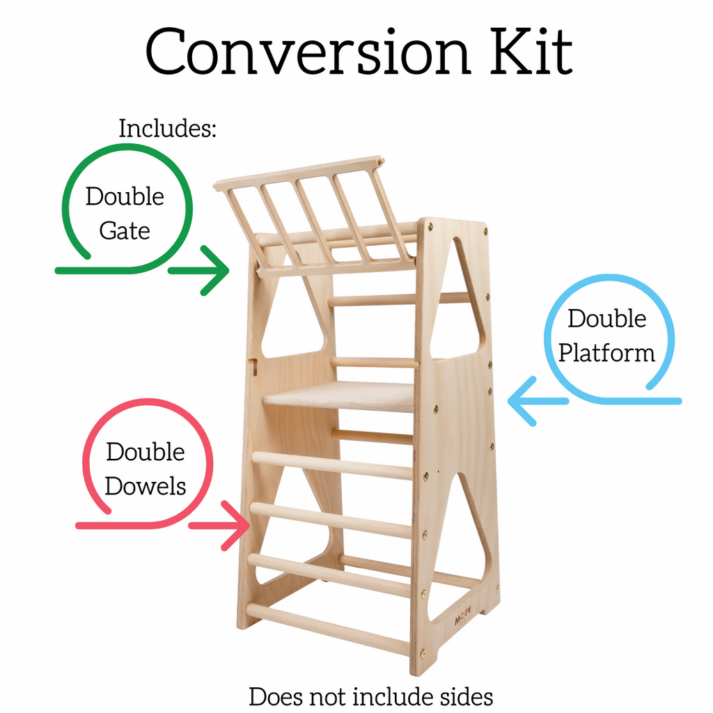 Conversion Kit ONLY - Learning Tower Single to Double