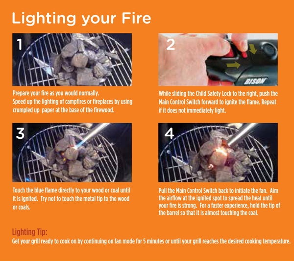 AIRLIGHTER 520 INSTRUCTIONS – The Bison Company