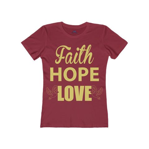Faith Hope Love Women's tee