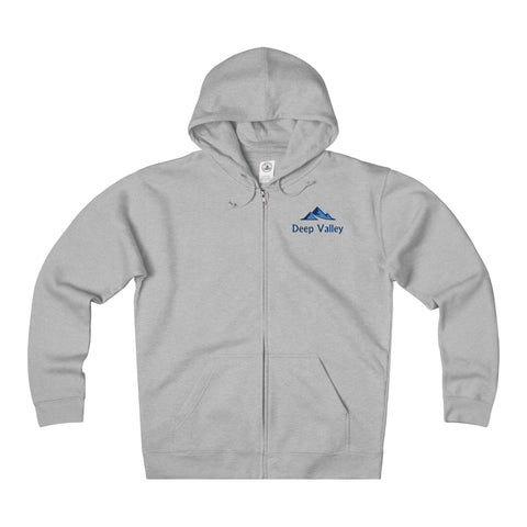 Deep Valley Heavyweight Fleece Zip Hoodie