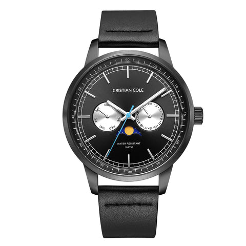 Moonphase -Grey/Gunmetal - Cristian Cole