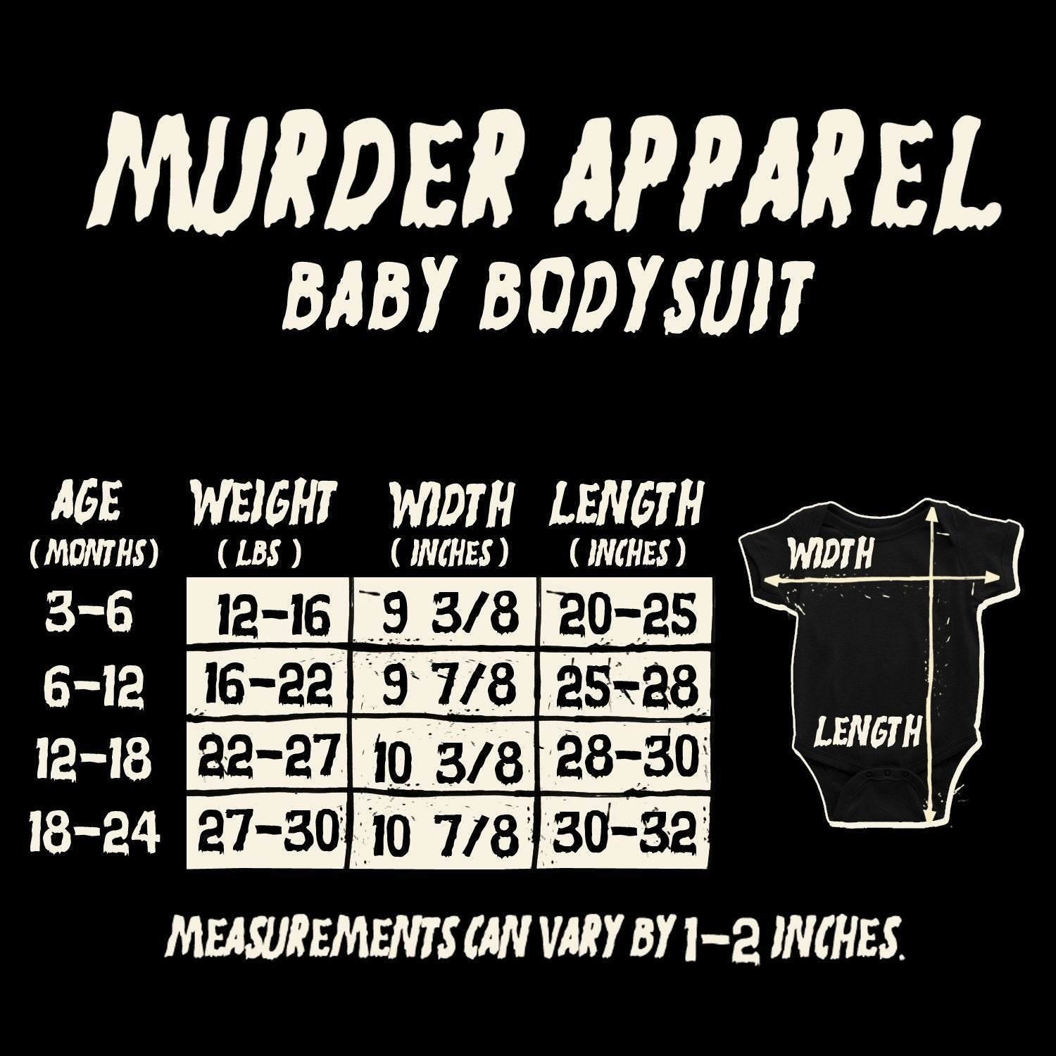 The Husband Did It True Crime Murderino Baby Bodysuit