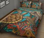 COLOR TURTLE BEDDING SET
