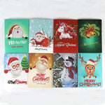 CHRISTMAS OFFER 50% OFFF - Diamond Painting Christmas Card (8 Pcs)