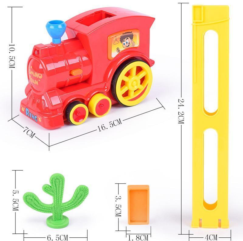Electric Children Toy Train Domino