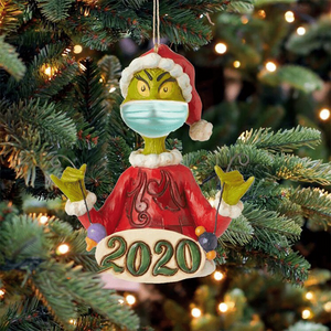 2020 Grinch Christmas Ornaments