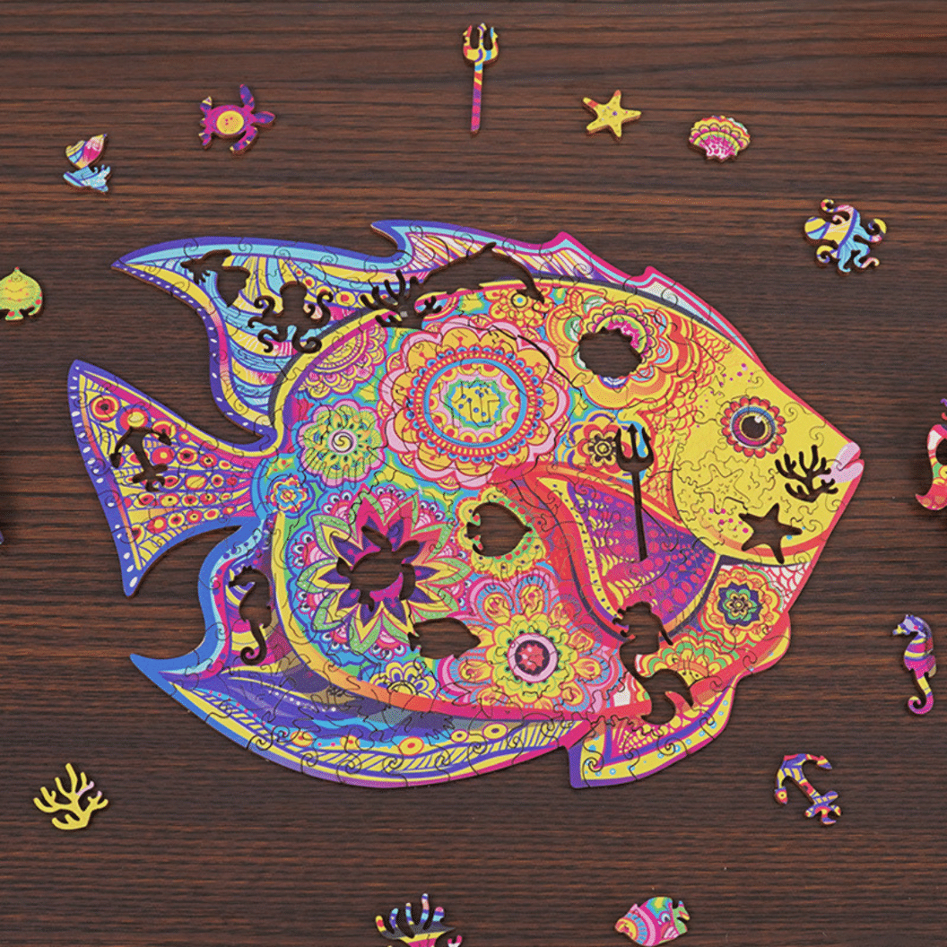 Magic Wooden Jigsaw Puzzle