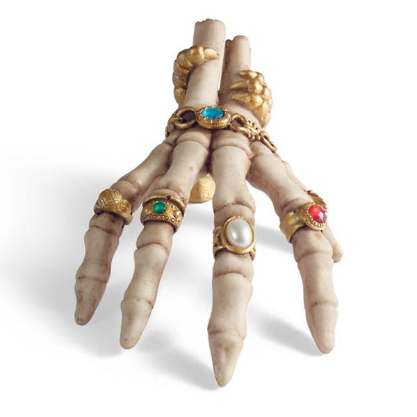 Jeweled Skeleton Hand