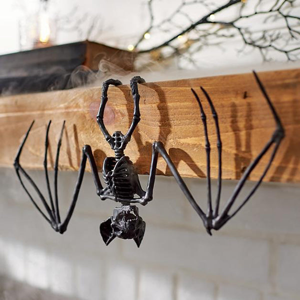Black Skeleton Bats (6 pieces)