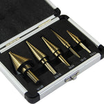 Hss Titanium Coated Drill Bit (5pcs/set)