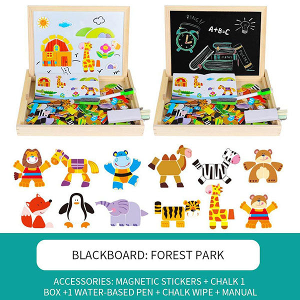 3D Children's Puzzle Magnetic Puzzle
