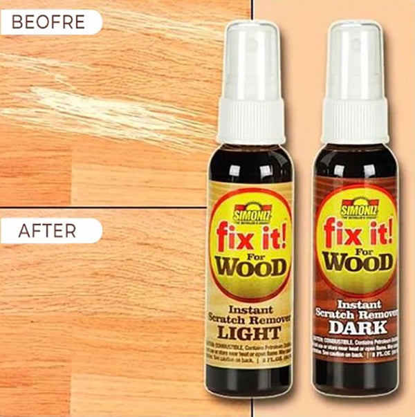 Fix It Wood Scratch Repair Spray (2 BOTTLES)