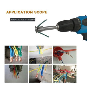 2.5 to 4 square Cable Wire Stripping and Twisting Tool