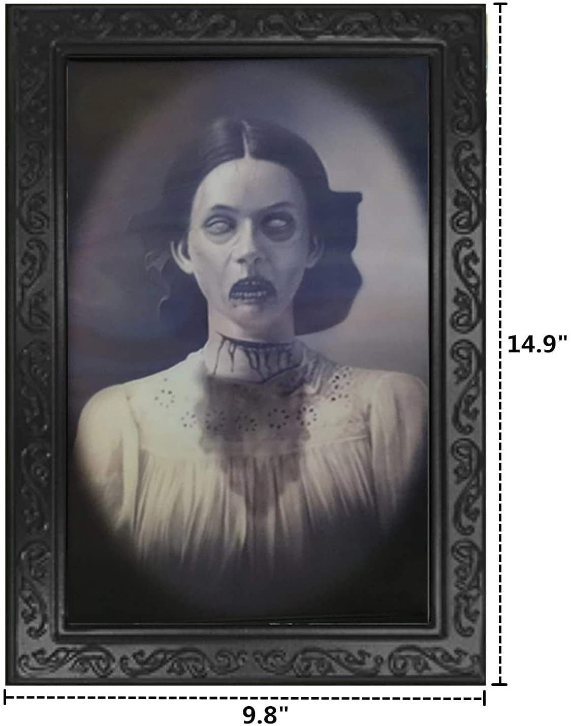 Halloween Lenticular 3D Changing Face Moving Picture Frame