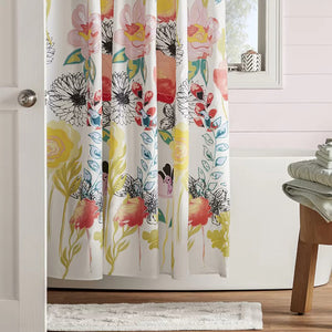 Briaroaks Floral Bouquet Single Shower Curtain