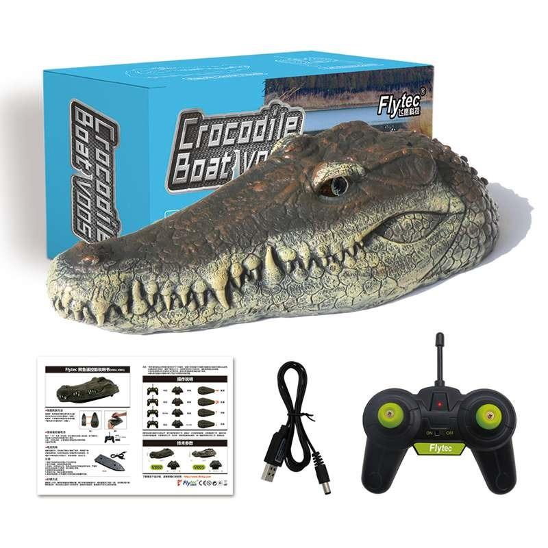 Simulation Crocodile Head with RC