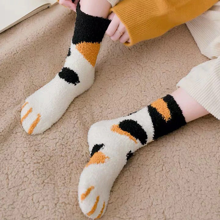 Cute Kitty Claws Socks