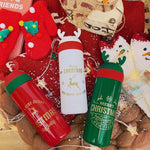 Cute Christmas Stainless Steel Thermos Cup